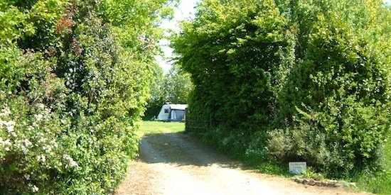 Camping La Bucaille entrance