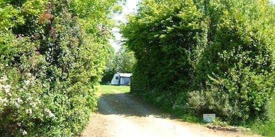 Camping La Bucaille entrance